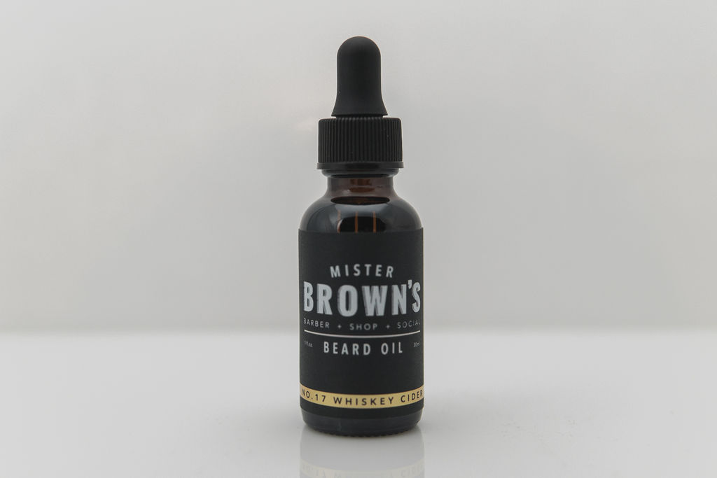 Mister Browns Beard Oil